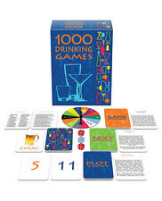 Fun & Desirable 1000 Drinking Games by Kheeper Games