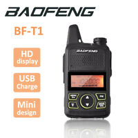Baofeng BF-T1 Two Way Ham Radio UHF400-470Mhz Walkie Talkie Long Range Earpiece