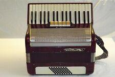 Piano accordion akkordeon WELTMEISTER 48 bass