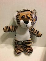 "Kuddle Me Toys Brown Tiger NEW 16"" Plush Stuffed Animal"