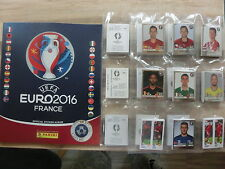PANINI EURO 2016 em 16 STAR EDITION SWISS SET COMPLETO COMPLETE SET * Empty album
