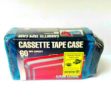 NEW Case Logic CL-60 Value Pack Audio Cassette Tape Carry Case Storage 1992