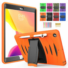 """For iPad Mini4/5 Air 2 Pro 11"""" 3-layer Heavy Duty Pencil Holder Stand Case Cover"""