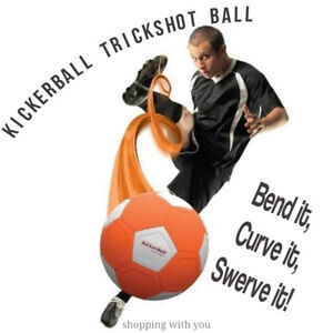 Kickerball By Swerve Ball Brand New Football Soccer Ball UK BEST SELLING TOY