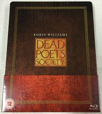 Dead Poets Society Steelbook - UK Exclusive Limited Edition Blu-Ray