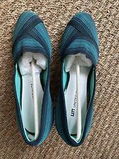 United Nude Turquoise High Heeled Court Shoes- Size 39, Unworn