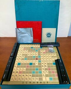 Vintage Turntable Scrabble, Selchow & Righter, 1954