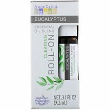 Aura Cacia -  Roll-On Oil, Clearing Eucalyptus, 0.31fl.oz(92ml)