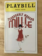 THOROUGHLY MODERN MILLIE May 2002 Broadway Playbill! SUTTON FOSTER, Gavin Creel!