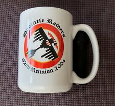 "DOOLITTLE RAIDERS 34th BS MUG 62ND REUNION 2004 4.5"" x 3 1/8"""