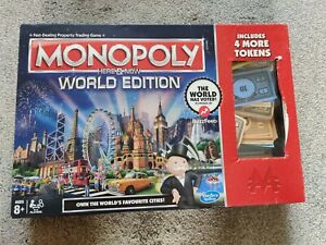 Monopoly Here & Now World Edition Used