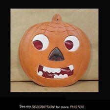 Large Antique Halloween Die Cut JOL Pumpkin Made in Germany