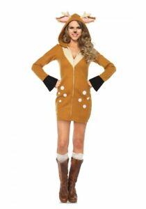 Cozy Fawn Damen-Kostüm von Leg Avenue - Rehkitz Kitz Bambi Hirsch Rentier