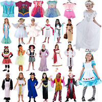 New Kids Girls Dress Up Costume Complete Outfit Fancy Dress