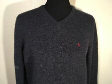 Polo by Ralph Lauren 100% Lambs Wool Long Sleeve V Neck Sweater (Large) New NWT