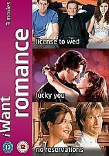 I Want Romance Licence To Wed Lucky You No Reservations DVD UK Rel New Sealed R2