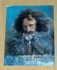 2014 Cryptozoic Hobbit Unexpected Journey LOTR SKETCH card Charles Hall 1/1
