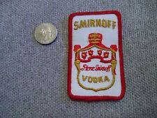 Vintage Smirnoff Vodka Patch New Old Stock