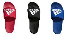 Adidas Men's Adilette Cloudfoam Plus Comfort Slides Adidas Logo Slides Sandals