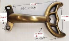 1 metal Replacement arm bracket polished bronze for Smaller Ceiling Fans