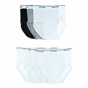 New Fruit of the Loom Boy's Assorted Solid Briefs (7 Pack)