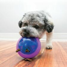 Kong Dog Toy Hopz Ball Squeaky Treat Dispensing Pet Dogs Gift Toys