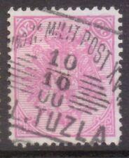 "BOSNIA  MILIT  POSTMARK / CANCEL  ""K und K MILIT POST XVII   L. TUZLA""  1900"