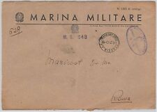 ITALIA  - FRANCHIGIA Posta MILITARE: MARINA - Nave : MOTOSILURANTE 843