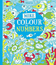 More Colour By Numbers by Fiona Watt (Paperback, 2013)