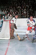 Nostalgia Hockey Print Photo Harry Howell Ed  00004000 Giacomin Goalie New York Ranger Eg9