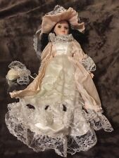 Porcelain Doll With Tags,