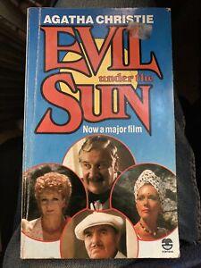 Evil Under The Sun By Agatha Christie - Fontana Hercule Poirot Detective