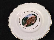 ANTIQUE/VINTAGE WHEELOCK SOUVENIR CHINA PLATE PUBLIC LIBRARY BELOIT WISCONSIN