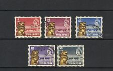 Singapore Used Single Stamps