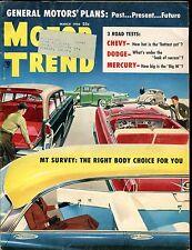 Motor Trend Magazine March 1956 Body Choice VG w/ML 030117nonjhe