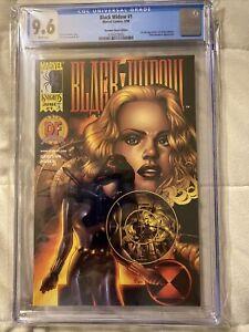 CGC 9.6 - Black Widow #1 DYNAMIC FORCES DF Marvel 1999 1ST APP. YELENA BELOVA NM