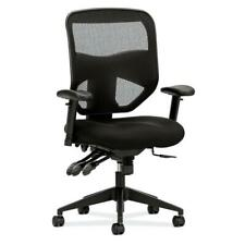 HON Prominent Mesh High-Back Task Chair with Adjustable Arms in Black