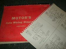 1960 – 1964 PLYMOUTH VALIANT LANCER WIRING DIAGRAMS SCHEMATICS MANUAL SHEETS