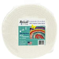 "Bosal Katahdin On-A-Roll 100% Organic Cotton Batting 2.5""X 25yd 390K-25"
