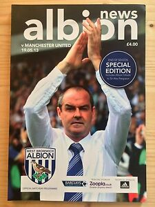 2012/13 WEST BROMWICH ALBION V MANCHESTER UNITED (19/05/2013)
