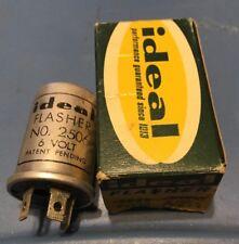 Original NOS IDEAL FLASHER 2506  6 VOLT 3 PRONG W/  BOX