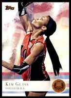 2012 TOPPS OLYMPICS COPPER KIM GLASS VOLLEYBALL #35 PARALLEL