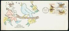 Mayfairstamps Canada Fdc 1969 Bird Combo Hand Colored First Day Cover wwh_71573