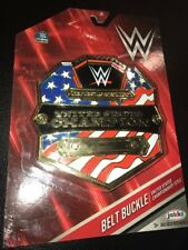 WWE WWF United States Championship Belt Buckle. Brand New.  3+.  Be A Champion