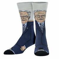 Cool Socks, Unisex, Political, Crazy Bernie Sanders, Crew, Liberal Novelty Funny