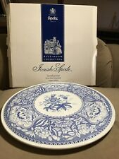 SPODE Blue Floral Cake Plate Ceramic Platter The Spode Blue Room Collection