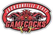 "Jacksonville State Gamecocks College NCAA Car Bumper Vinyl Sticker Decal 6""X3"""