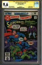 * DC Comics Presents #27 CGC 9.6 SS Signed Starlin 1st Mongul (1330677021) *