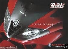 Scooter Brochure - Gilera - Nexus 500 (Dc410)