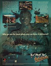 Original 1997 Sony Playstation PS1  VMX RACING video game magazine print ad page